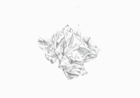 Crumpled-up paper by FourthTemptation