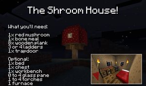 The Shroom House by LockRikard
