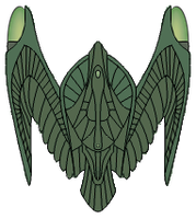 JJRomulan Bird of Prey concept by JohnnyMuffintop