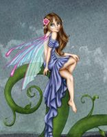 Pretty Fairy Colored by alexasrosa
