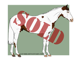 Horse Adoptable: SOLD by Cat-Orb-Shop