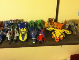Transformers set 2: 3 photos left by Dield