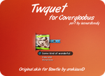 Twquet for Covergloobus by leonardomdq