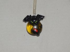 Toothless On a Stone by XDtheBEASTXD