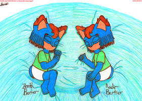 Baby Bertier Twins by ReverseTheEclipse