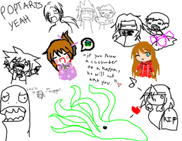 Msn + paintchat sketchdump by Moiqueen