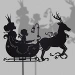 The snow queen - Shadow Puppet by PaperTales