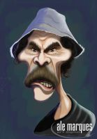 CARICATURE DON RAMON by alemarques21