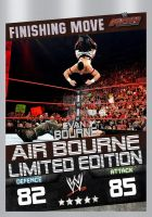 air bourne finishing move card by Patrick75020