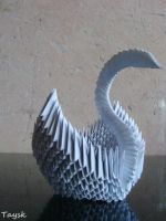 Another Swan 3D - Origami by Taysk