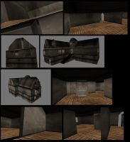 House with stairs inside Part7 by DennisH2010