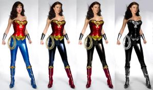 Improved Wonder Woman costumes by user0597