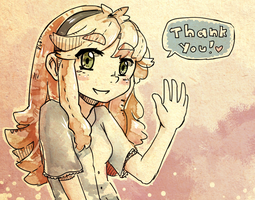 Thanks! by Ekkoberry