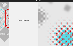 Typography Twitter Background by NarjisNaqvi