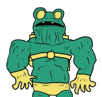 Frog-Man by Agent-Jin