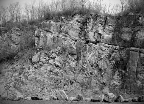 Another View of Chimney Rocks, Pennsylvania by JOHNNYFB