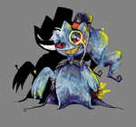 Banette feels like a sir by Ink-Leviathan