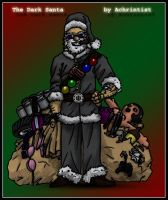 The Dark Santa Claus by achrintist