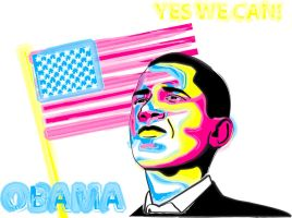 Obama by Lydiie