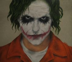 The Joker Blogs Portrait by mldrfan