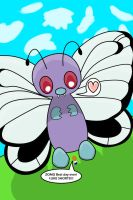 Big Butterfree w-Bug Catcher by kalekelas