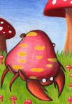 ACEO #031 - Pilzwald by Elythe