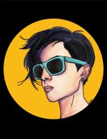 Tegan Quin sunnies by doppelganger47