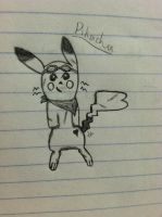 Pikachu Doodle by PikaYugi4Ever93