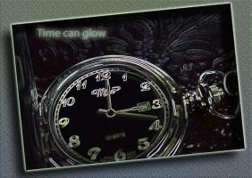 Time can glow by Ritika-of-fire