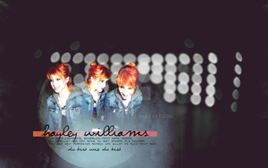 Hayley Williams V by MRSSERIOUS