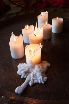 Dirty-candles by jnneDesign