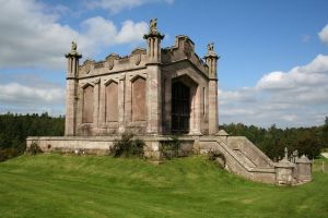 Lowther Castle Mausoleum 1 by GothicBohemianStock