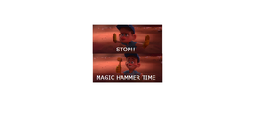 WIR Screencap #2: Magic Hammer Time by 8BitStitchPunk