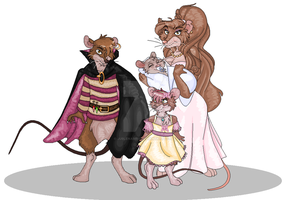 Young Jube', Robyn And Kayler by Jublenarris