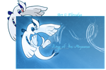 Lugia, King of the Abysses by Flitzalys