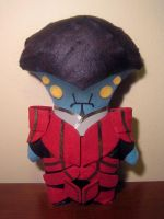 mass effect javik plush, chibi style! by viciouspretty