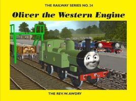 RWS Cover Remake: Oliver the Western Engine by Sergeant-Sunflower