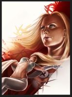 Emma Frost - Contest Entry by syrez-one