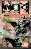 A Green Lantern's grief by Cinar