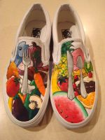 Food Shoes Completed by shotgunopera