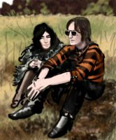 John and Yoko speed painting by apartment42b