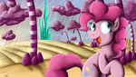 Fanart - MLP. Pinkie's Candy Vision by jamescorck