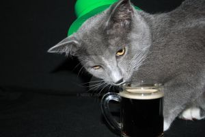 Happy St Patricks Day Eegore 3 by Nebey