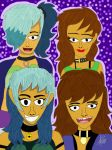 (AT) The girls by FabianArtist