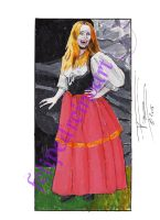 Lalla Ward as Helga in Vampire Circus by FelipeDReino77