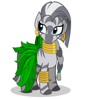 Zecora Dress by CartoonTiger