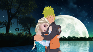 Under the Moonlight (NaruElsa) by noname144able