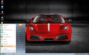 Ferrari-scuderia-spider-16m windows 7 theme by windowsthemes