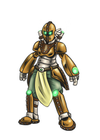 Mosobot Arcane Armour by mosobot64