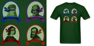 TMNT Artists Shirt by Enlightenup23